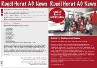 NEWS September 2010 - Ruedi Horat AG
