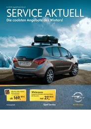 181,00 €2 - Autohaus Erich Horvath, Opel Vertragshändler GmbH