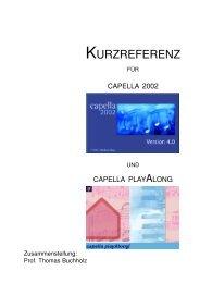 KURZREFERENZ - Thomas Buchholz - Komponist