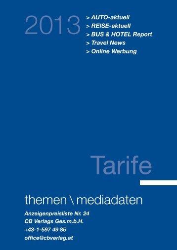 Mediadaten 2013 als PDF herunterladen - REISE-aktuell