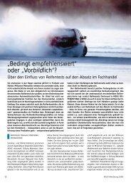 """""""Bedingt empfehlenswert"""" oder """"Vorbildlich""""? - Reifenpresse.de"""