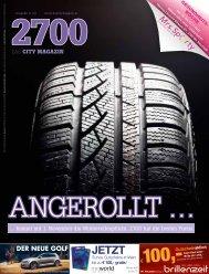 DER NEUE GOLF - 2700 - Das City Magazin