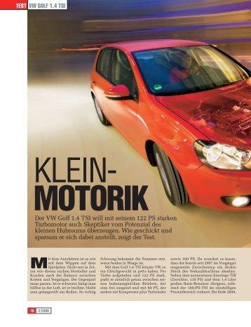 Motorik - Volkswagen AG