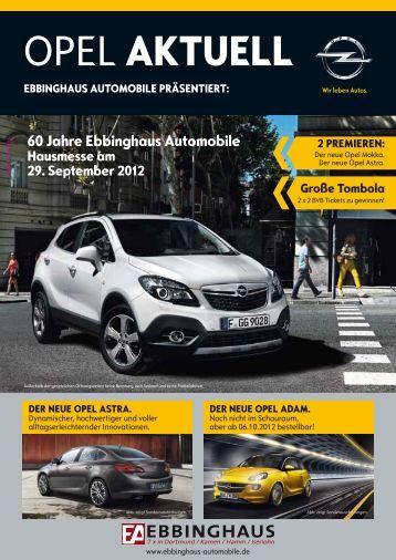 der neue opel astra. - Ebbinghaus Automobile