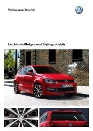 Katalog herunterladen (PDF) - Volkswagen Zubehör