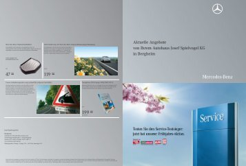 Aktuelle Angebote von Ihrem Autohaus Josef Spielvogel KG in ...