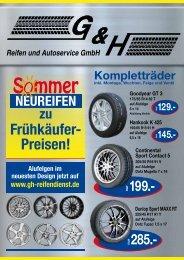 Dunlop Sport MAXX RT - G & H Reifendienst GmbH