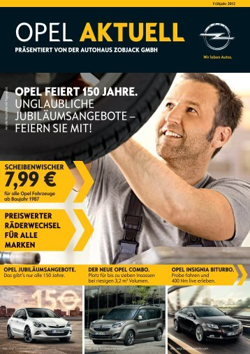 OPEL AKTUELL - Autohaus Zobjack GmbH