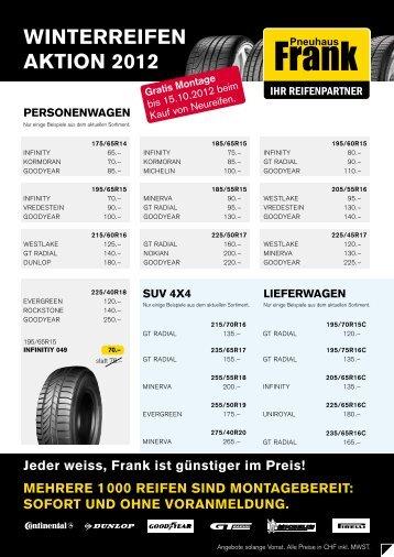 WintERREifEn aktion 2012 - Deutsch - Schweiz