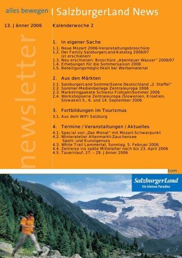 Nummer 2/2006 - SalzburgerLand Netoffice