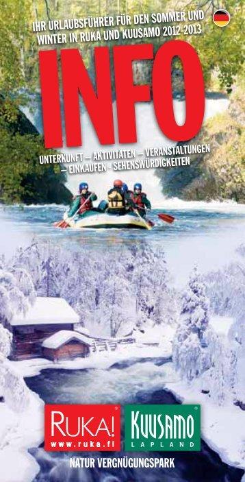 Veranstaltungen in der Wintersaison 2012-2013 - Ruka