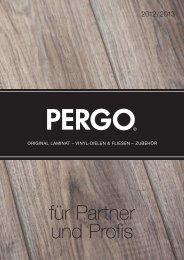 Broschüre herunterladen - Pergo