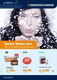 Herbst/Winter 2011 - Hofmeister & Meincke