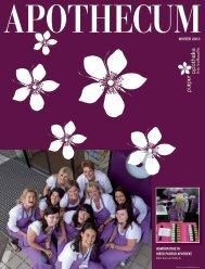 WINTER 2011 HOMÖOPATHIE IN IHRER PURPUR APOTHEKE