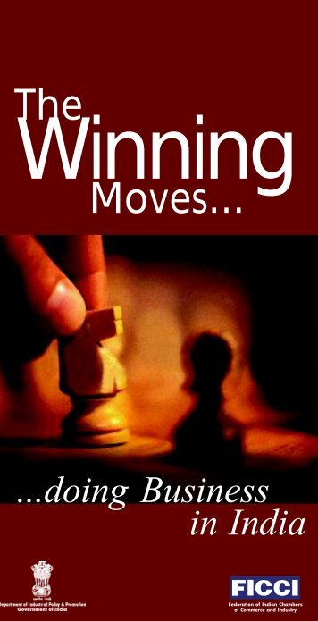 winning moves book - Department Of Industrial Policy & Promotion