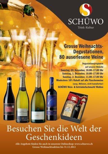 Besuchen Sie die Welt der Geschenkideen - SCHÜWO Trink-Kultur