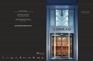 Download Conrad Hotels & Resorts brochure as PDF - Hilton ...