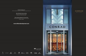 Download Conrad Hotels & Resorts brochure as PDF - Hilton ...
