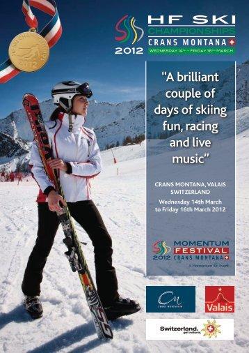 HF SKI - Skiing