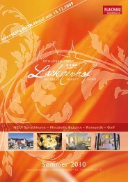 Sommerprospekt downloaden - Hotel Lacknerhof