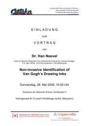 Dr. Han Neevel Non-invasive Identification of Van Gogh's Drawing ...