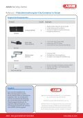 ABUS Security-Center Referenz   Videoüberwachung bei City ... - Page 2