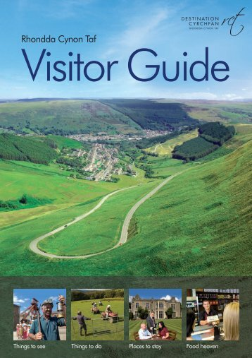 Visitor Guide pdf download (12.9mb) - Rhondda Cynon Taf