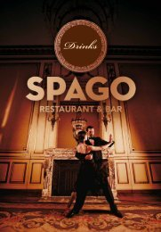 Drinks - Spago Zug