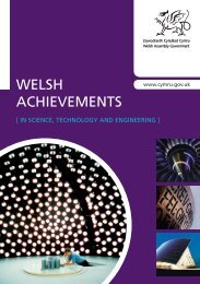 Welsh Achievements - in science, technology and engineering (PDF