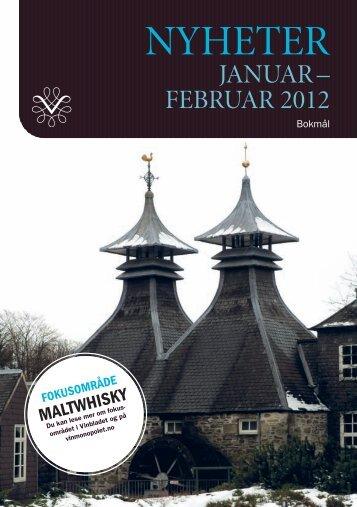 Katalog med nyheter i basisutvalget for perioden januar