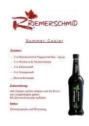 Rezepte mit Peppermint BAR-SYRUP downloaden - Riemerschmid