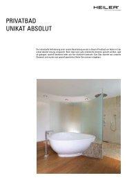 PRIVATBAD UNIKAT ABSOLUT - Alois Heiler GmbH