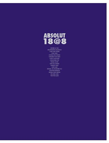 absolut 18@8 - Wei-Ling Gallery