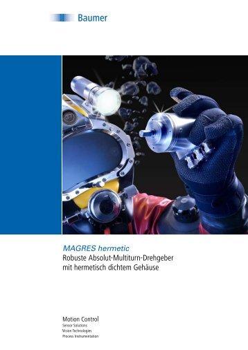 Robuste Absolut-Multiturn-Drehgeber mit hermetisch ... - Baumer