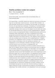 Malafide praktijken rondom het vastgoed Bron: Ciroc nieuwsbrief 17