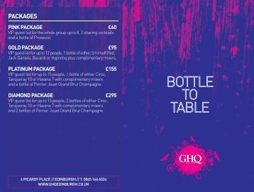 to download our bottle to table - GHQ