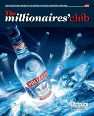 Millionaires - Drinks International