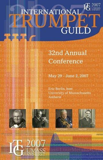 June 11-14, 2007 - International Trumpet Guild