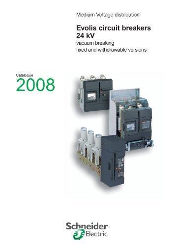 Evolis circuit breakers 24 kV - engineering site - Schneider Electric