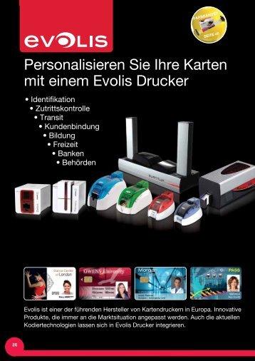 Personalisieren Sie Ihre Karten mit einem Evolis Drucker