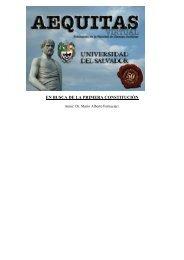 en busca de la primera constitución - Universidad del Salvador