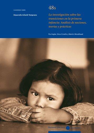 La investigación sobre las transiciones en la primera infancia ...