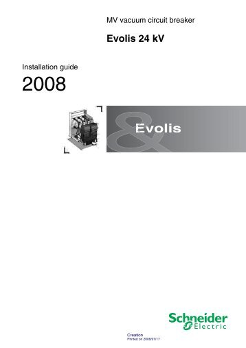 Evolis 24 kV - Schneider Electric