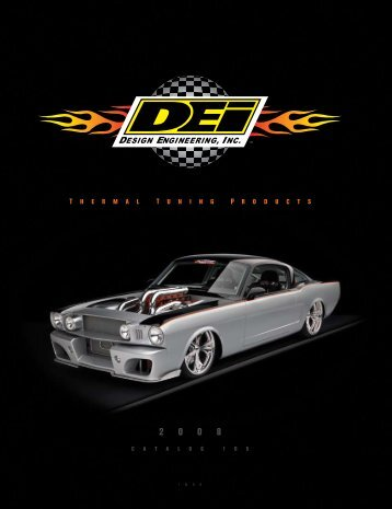 Table Of ConTenTs - OPP Racing
