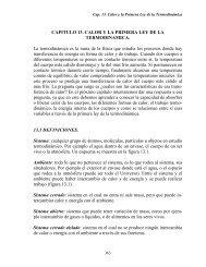 Capítulo 13. Calor y la primera ley de - DGEO