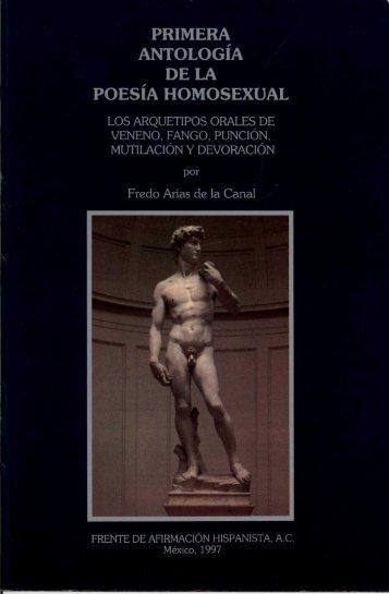 primera antología de la poesía homosexual - Frente de Afirmación ...