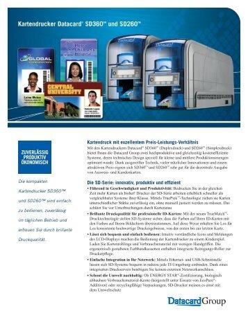 Kartendrucker Datacard® SD360TM und SD260TM