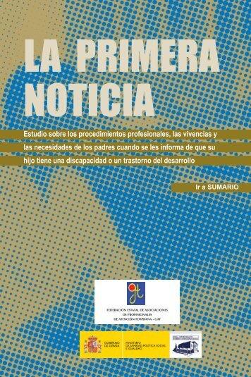 La Primera Noticia - Asociación Galega de Atención Temperá