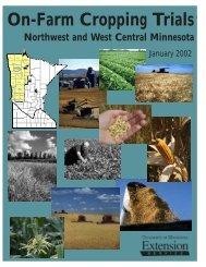 On-Farm Cropping Trials 2002 - Small Grains
