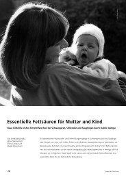 Essentielle Fettsäuren für Mutter und Kind